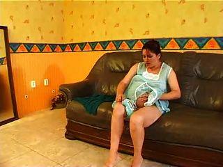 Pregnant Woman Masturbating-006