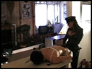 Mistress Sissy Gets Strapon