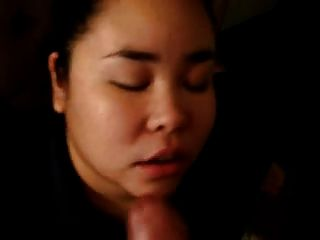 Fat Asian Ex Gf From Work Sucking My Cock On Her Lunch