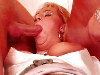 Hot Gangbang With Blonde