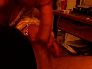 Wifey Takes Big Load In Her Mouth