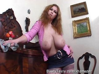 Busty Terry Nova Enormous Natural Tits.