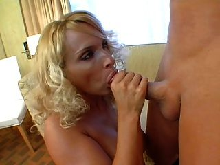 Beautiful Blonde Milf Fucking Boy