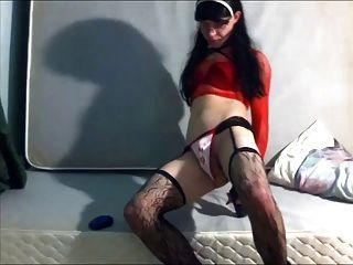 Crossdresser Loves Taking It In The Ass