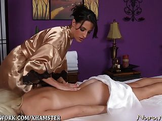 Sexy Lesbian Massage And Pussy Licking