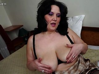 Chubby Mother Masturbate Alone