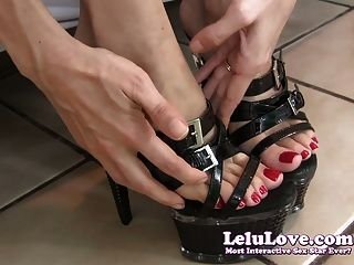 Lelu Love-foot Boy Jerkoff Encouragement