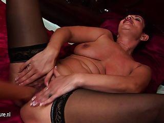 Teen Girl Fisting A Mature Lesbian Mother