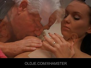 Pervert Old Man Fucking Horny Teeny