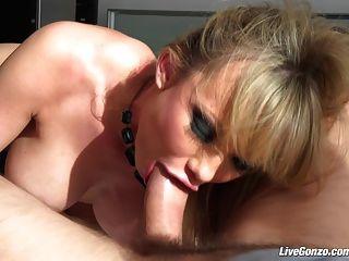 Livegonzo Maya Hills Cute Blonde Face Gets Fucked