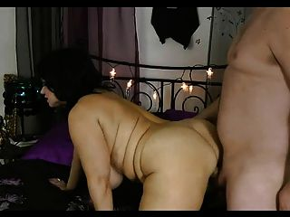 Witchy Bbw Big Boob Queen In Black Wig