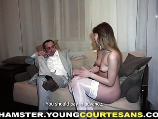 Young Courtesans - Courtesan Pussy Creampied