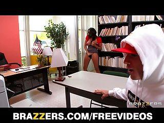 Brazzers - Sexy Big-tit Latina Librarian Missy Martinez Fuck