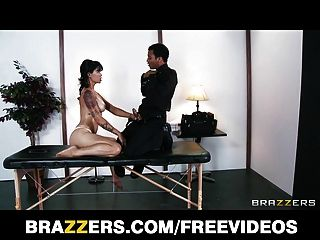 Sexy Brunette Exec Dana Vespoli Fucks Her Masseur