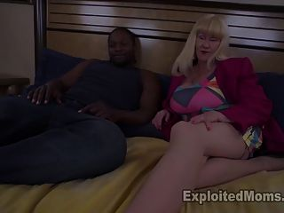 Granny With Huge Tits Takes A Pounding From Frat Brother