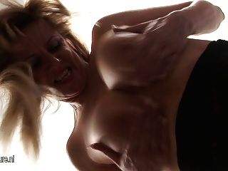 Blond Mature Slut Wife Pleasing Herself For You