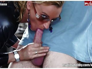 German Milf Gives Blowjob And Gets Fucked