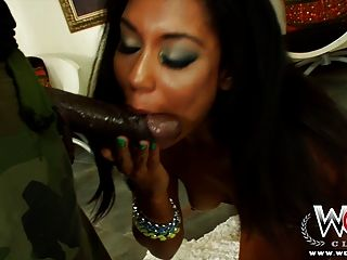 Wcpclub Black Girl Gets A Creampie From A Bbc