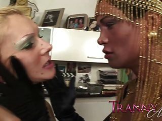 Tranny Art Blonde Milf Fucked By Chick With A Dick