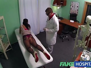 Fakehospital Young Mum Wanting To Feel Sexy Has Her Ass Tong
