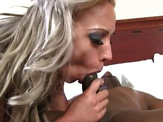 Mature Blonde Fucks Black Dick
