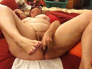Huge biggest tied bound tits