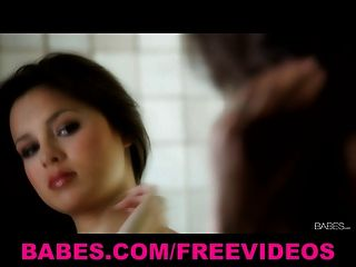 Babes - Hot & Sexy Brunette Teen Nina James Masturbates