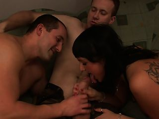 Kristyna Fucking Two Guys At Once