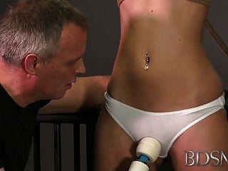 Bdsm Xxx Bondage Master Brings His Cute Asian Sub Girl