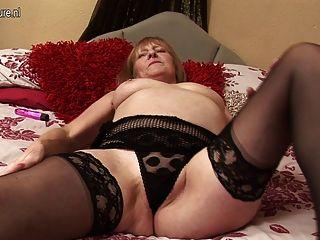 65yo British Grandmother Still Dirty Whore