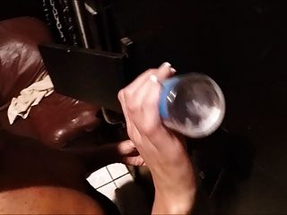 Wife Enjoys A Bbc Through Glory Hole Part 1