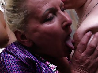 Granny Fucked By Mother And Not Her Daughter