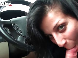 Funmovies Amateur Blowjob While Driving In Public