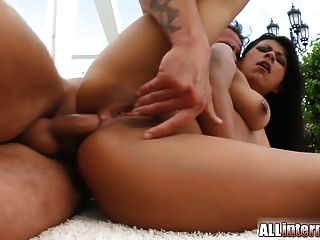 Asian Hottie Has Ass-blasting With Extreme Load Of Cum