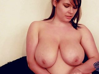 Busty Bbw Gets Her Big Tits All Wet And Oily
