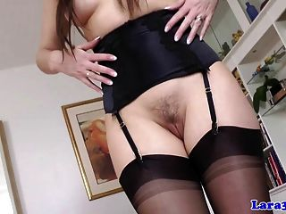 Classy Mature In Stockings Plows Young Stud