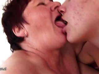 Granny Loves Her Lesbian Teens