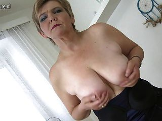 Cute Granny With Hungry Vagina