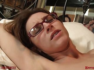 image Wanton rampant granny in stockings fucks hard