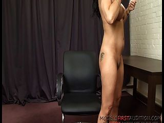 British Porn Milf Eva May Fucks Herself In The Casting Room