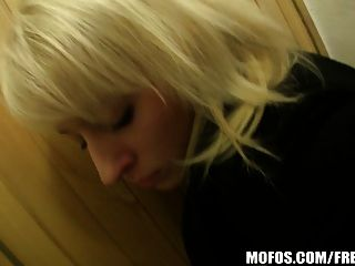 Natural Czech Blonde Is Paid Cash For Bj