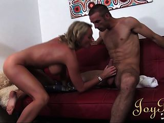 Joybear Experienced Big Tits Milf Loves Young Cock
