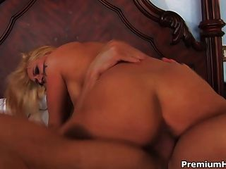 Rebecca Steel Taking Rod In All Holes