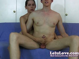 Lelu Love-reacharound Handjob Teasing Cumshot