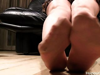 Alisa High Heels Steps + Nylon Foot Teasing