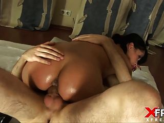 Vaginal Fisting For Cute Brunette