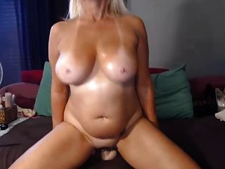 Nasty 47 Year Old Slut Teasing On Webcam, Part 6