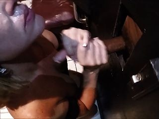 Wife Enjoys Bbc Through Glory Hole Part 2