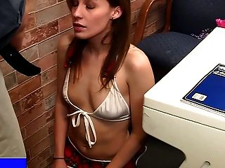 image Harmony vision natural chick loves a rough double fucking