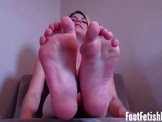 Jerk Off Foot Worship Fetish Instruction